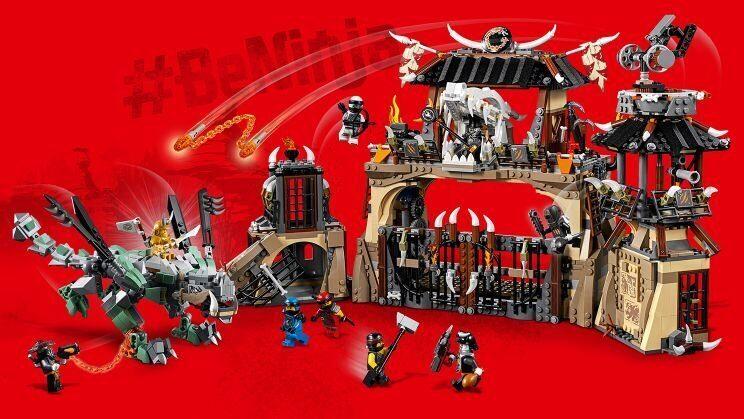 Конструктор LEGO Ninjago Набор Ниндзяго Пещера Драконов 70655-11
