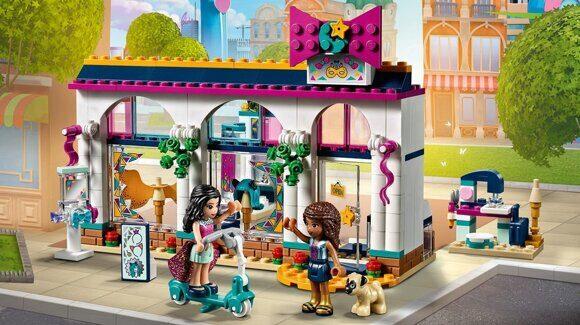 Конструктор LEGO Friends Подружки Набор Магазин аксессуаров Андреа 41344-1