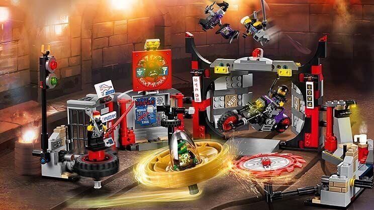 Конструктор LEGO Ninjago Набор Штаб-квартира Сынов Гармадона 70640-11