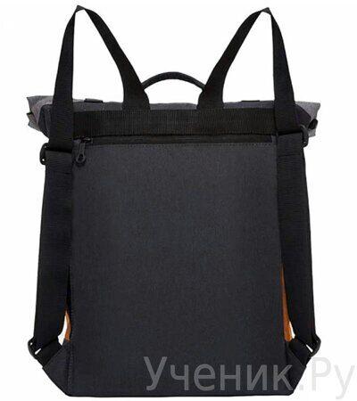 Рюкзак молодежный Grizzly RU-814-1 Черный-оранжевый-2