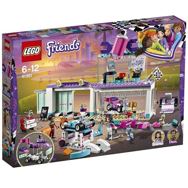 Конструктор LEGO Friends Подружки Набор Мастерская по тюнингу автомобилей 41351-2