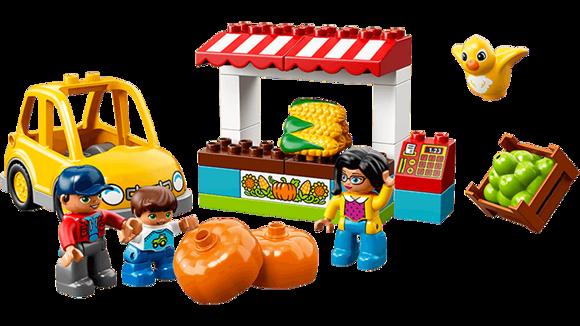 Конструктор LEGO Duplo Фермерский рынок-8