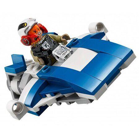 Конструктор LEGO Star Wars Набор Звездные Войны Истребитель A против бесшумного истребителя 75196-2