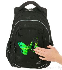 Рюкзак Walker Fame Butterfly Black-1