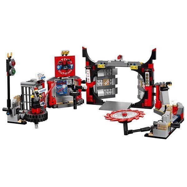 Конструктор LEGO Ninjago Набор Штаб-квартира Сынов Гармадона 70640-3