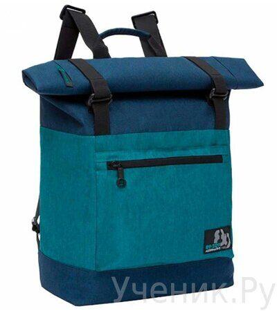 Рюкзак молодежный Grizzly RU-814-1 Сине-бирюзовый-1