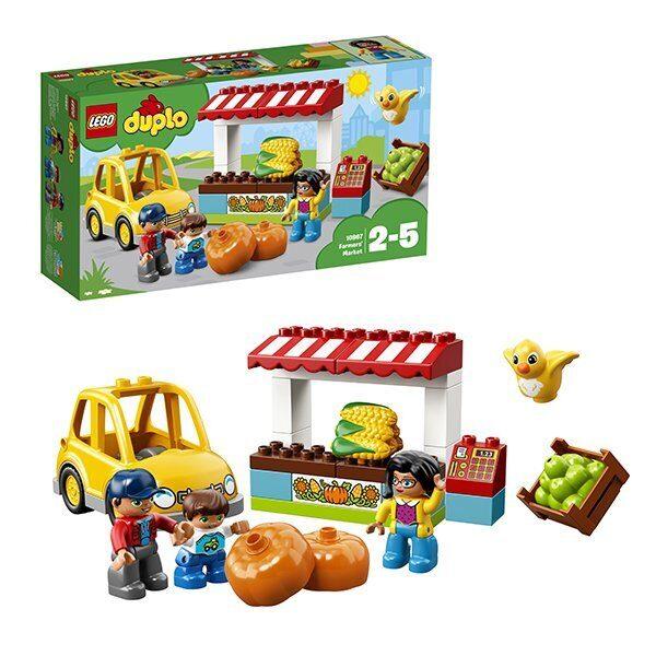 Конструктор LEGO Duplo Фермерский рынок 10867