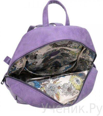Рюкзак молодежный Grizzly DW-814-3 фиолетовый-3