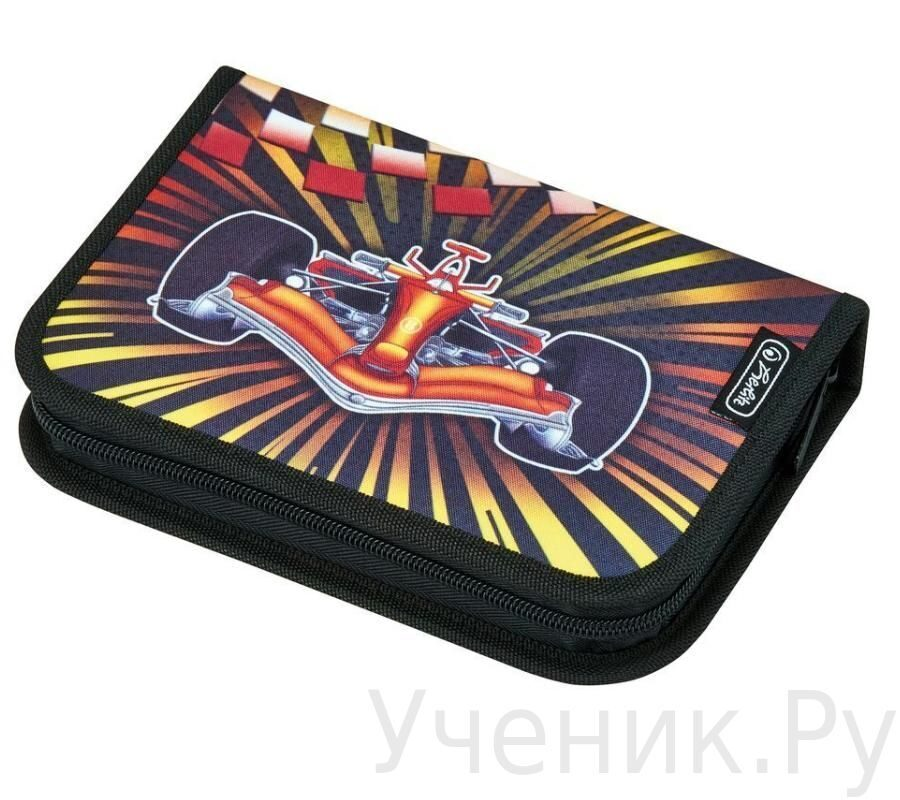 Пенал школьный Herlitz Boys Mix FORMULA ONE (19 предметов)