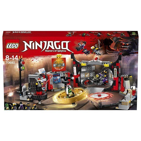 Конструктор LEGO Ninjago Набор Штаб-квартира Сынов Гармадона 70640-8