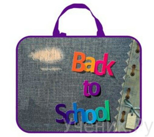 школьная папка Оникс ПМД 2-20 Back to school